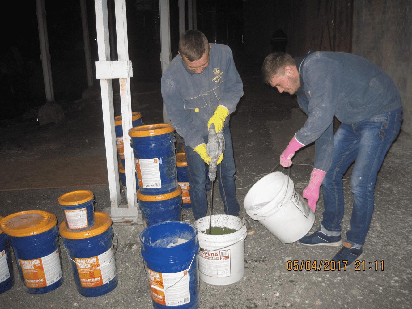 Пенетрон Адмікс - гідроізоляційна домішка до бетону